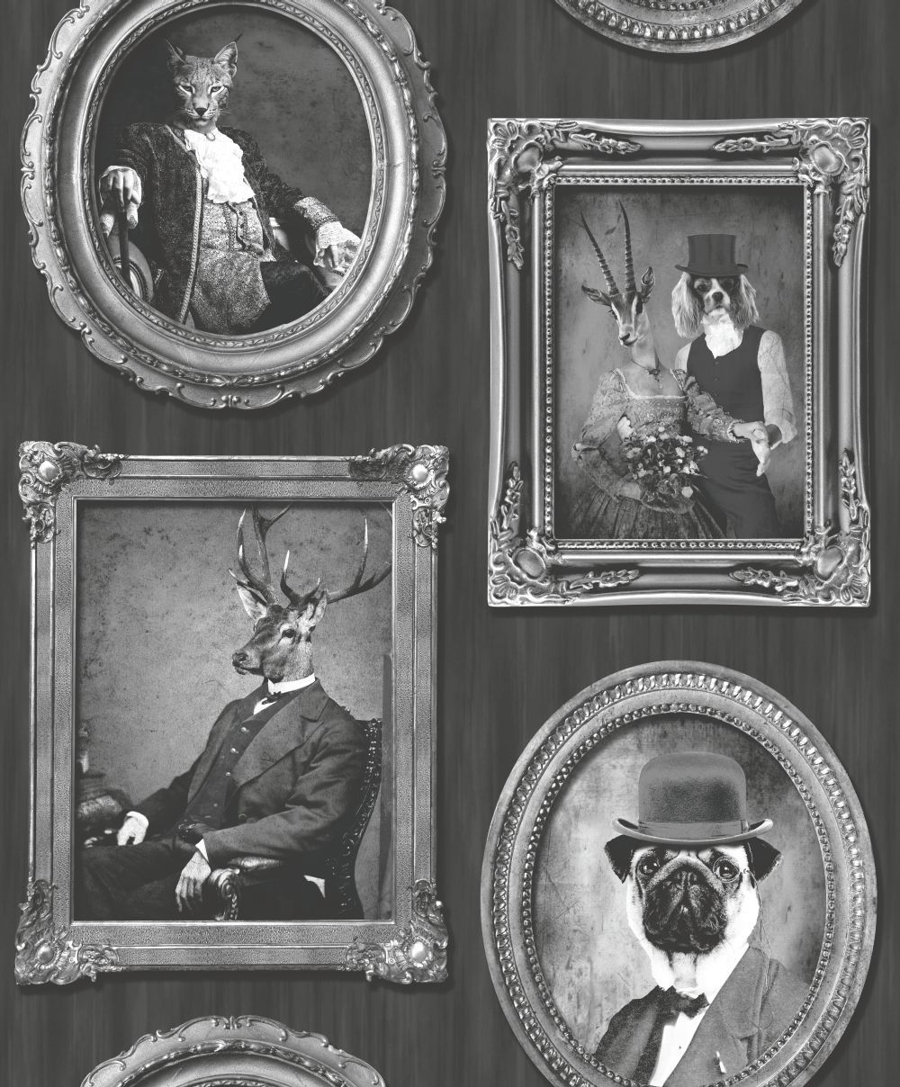 Framed Wallpaper Panels