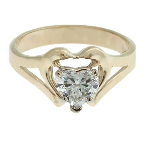0df7b5b68d A custom heart-shaped diamond, double dolphin engagement ring! Custom  creations made at The Source!
