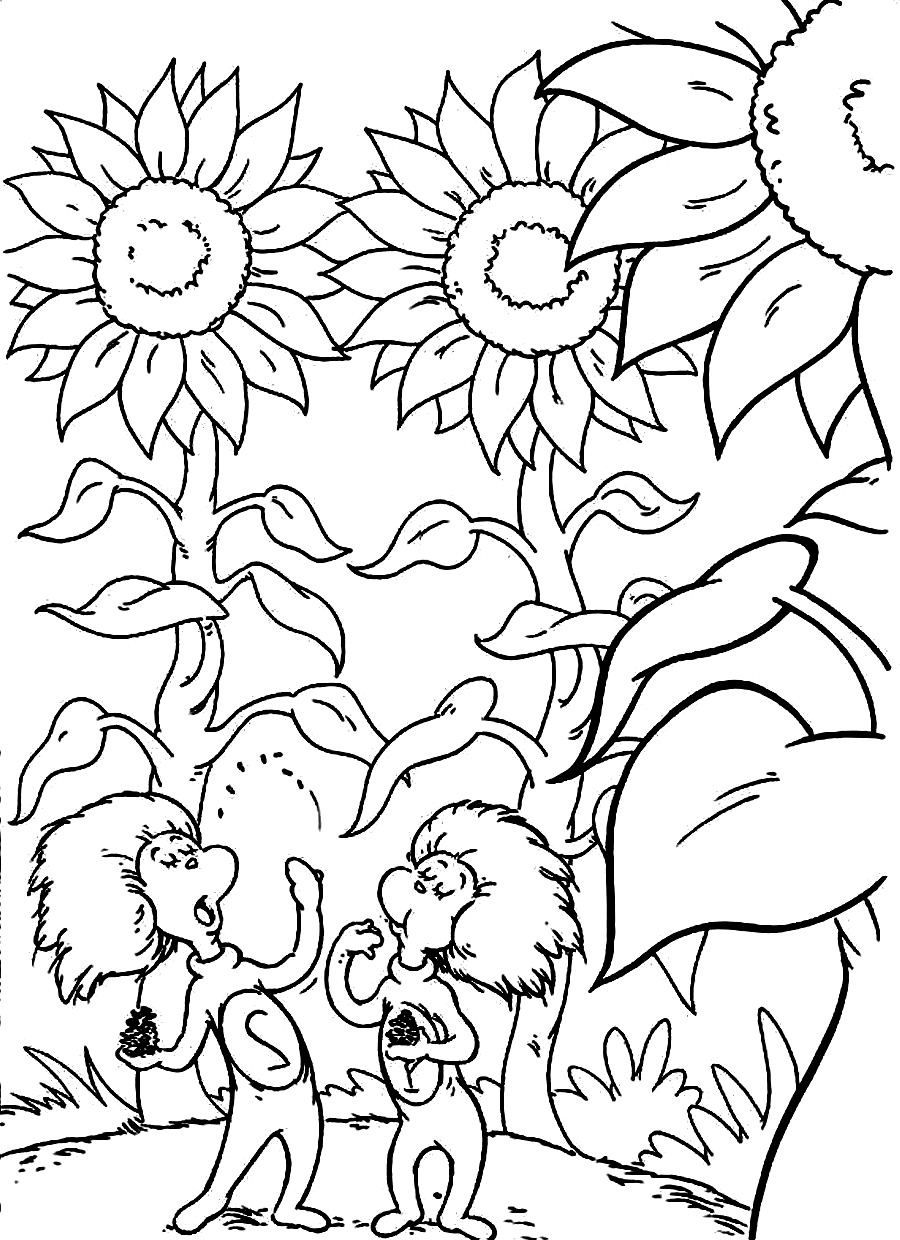 Free Doctor Seuss Coloring Pages Free Online Dr Seuss Coloring ...