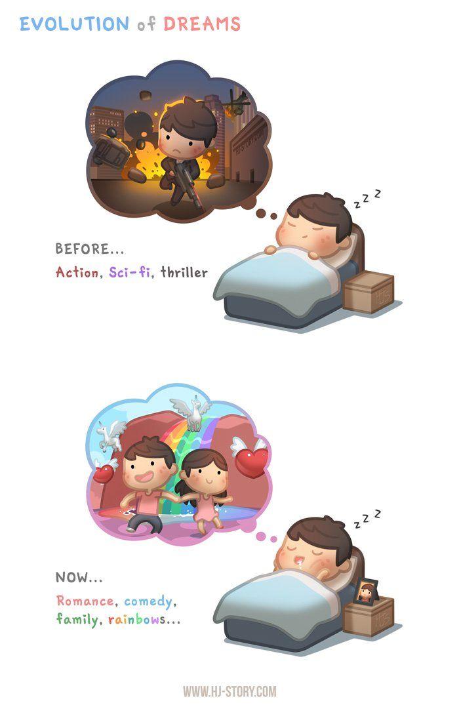 episode: Dream Evolution | HJ | Hj story, Cute love stories