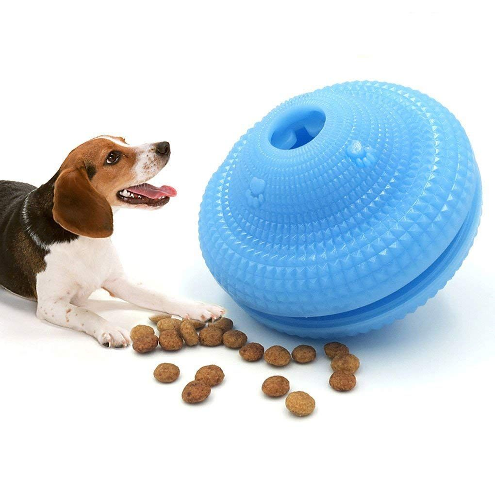 Interactive Dog Toy Pet Iq Treat Ball Food Dispensing Toys For