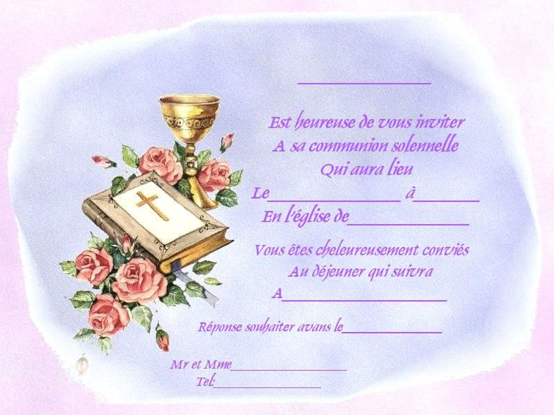 Resultat De Recherche D Images Pour Carte D Invitation Pour Communion Imprimer Gratuitement Carte Invitation Communion Invitation