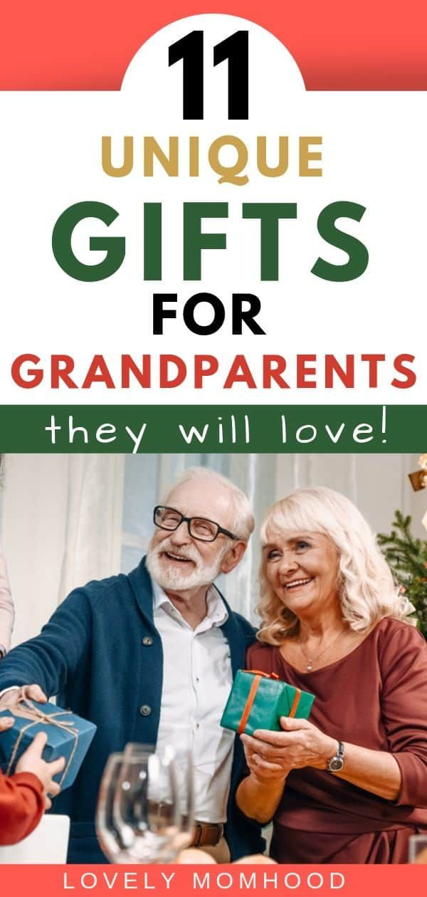 11 Unique Christmas Gifts for Grandparents They Will Love!