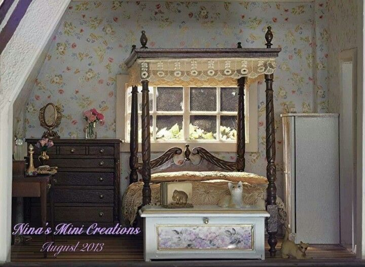 Best Bedroom Barbie Furniture Miniature Rooms Home Decor 400 x 300