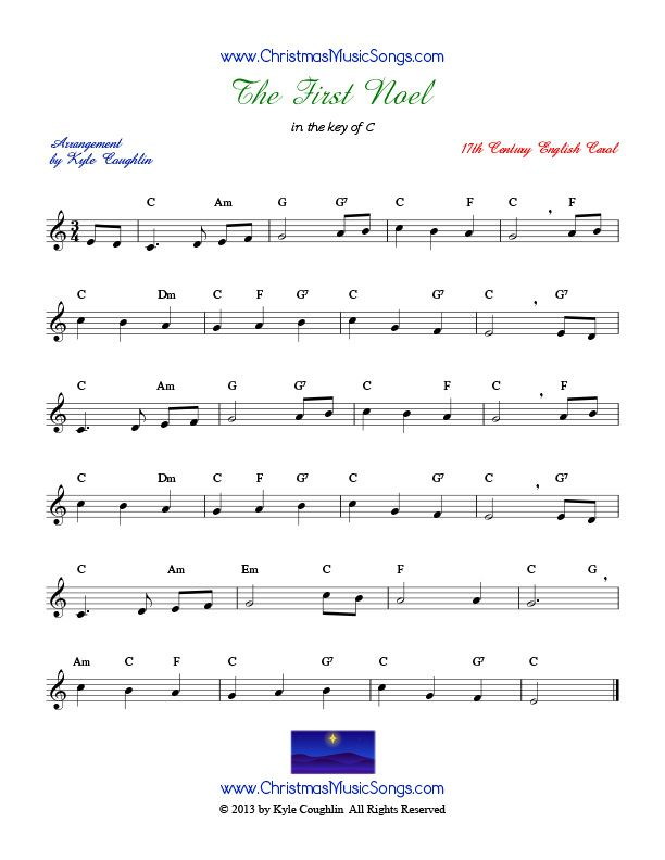 The First Noel Sheet Music Music Pinterest Music Sheet Music