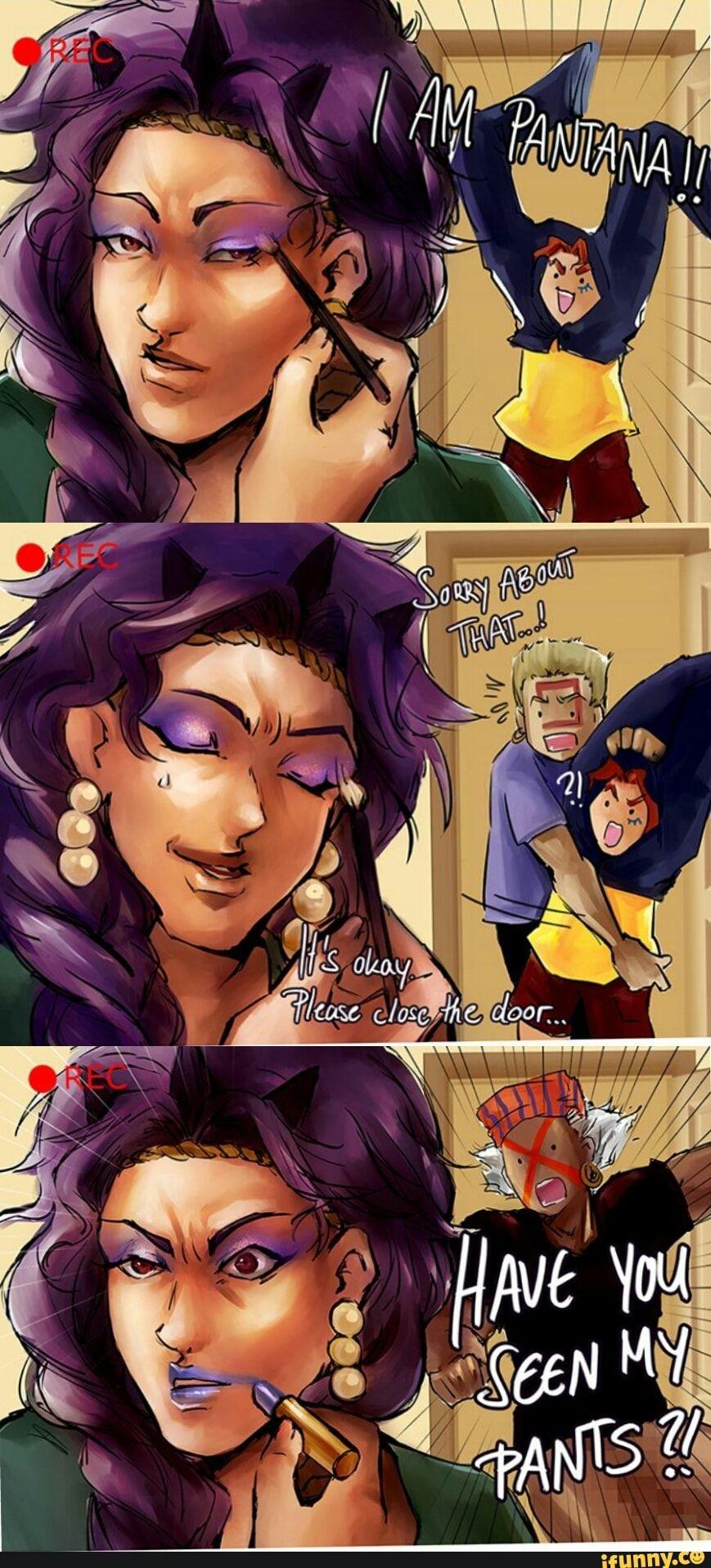 Kars is best dad  (A short gag comic featuring the Pillar Men from