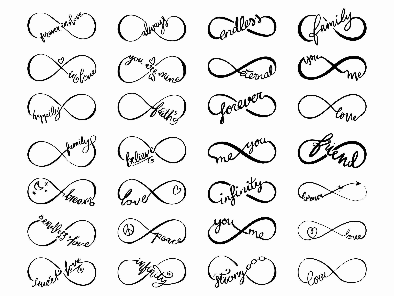 28 Infinity SVG / Infinity Symbol svg / Family Inf