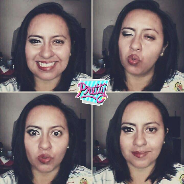 """""""Power Makeup"""" #natural #atrevida"""