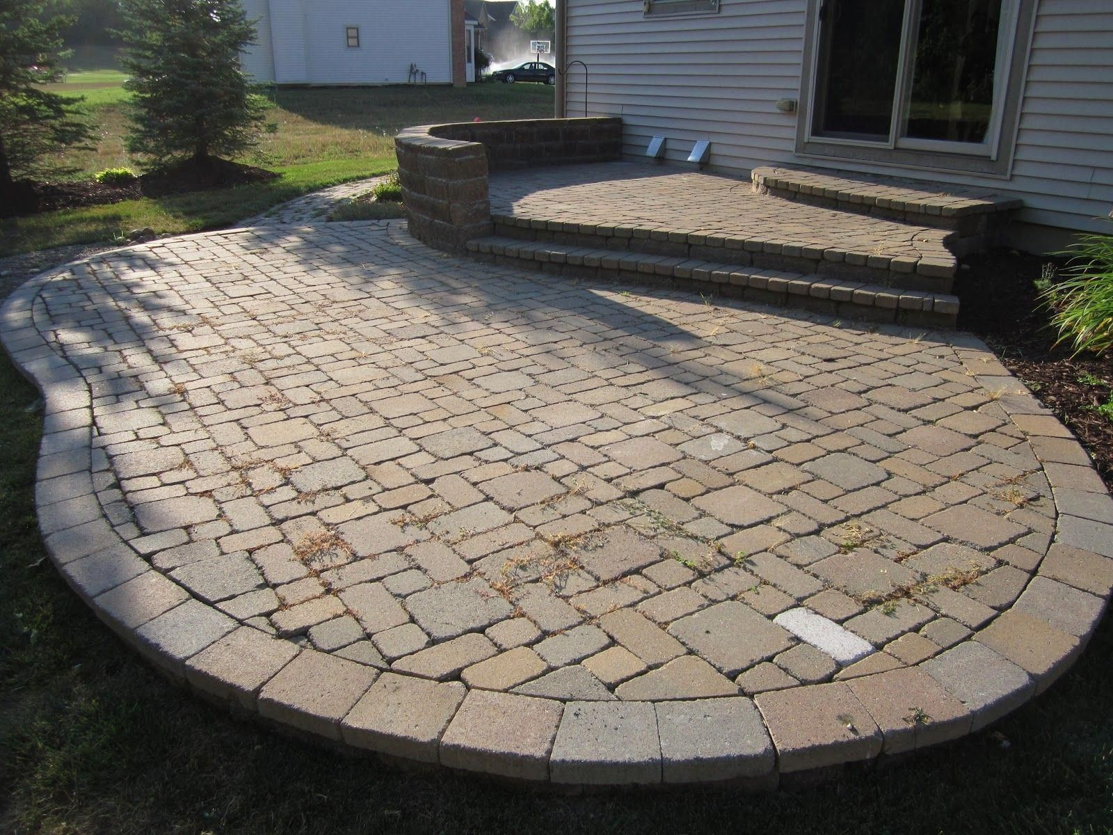 Best Amazing Laying Pavers For A Backyard Patio Outdoor Es About Paver Ideas