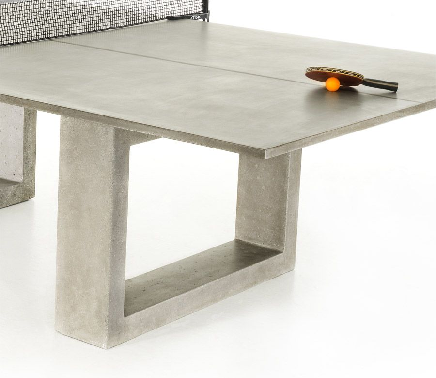 Stiga Outdoor Table Tennis Table   Vapor | Concrete, Steel And Ping Pong  Table