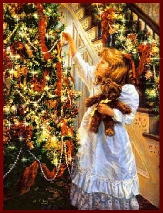 Victorian christmas on pinterest father christmas Christmas card scenes to paint