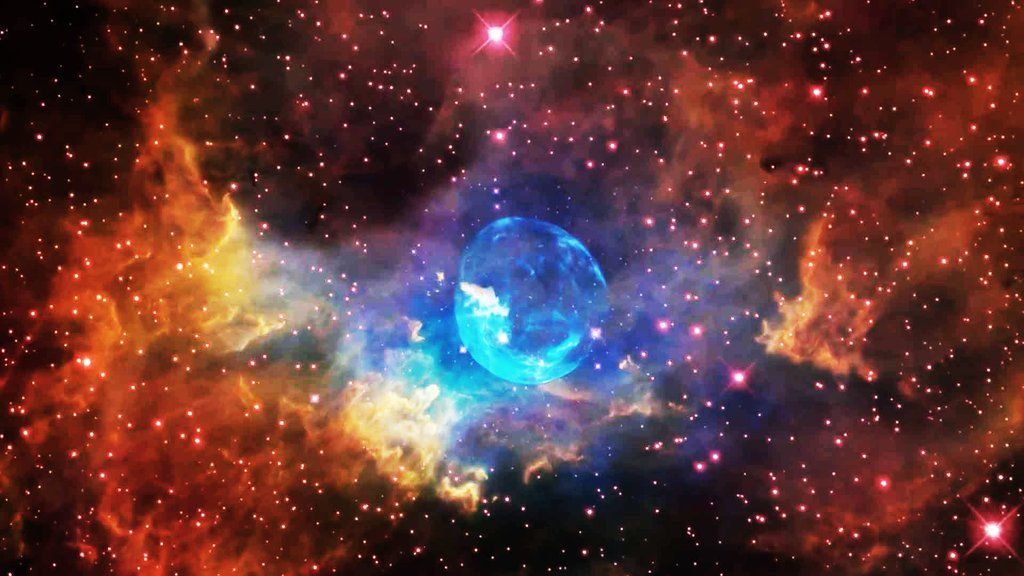"""Mashable on Twitter: """"Hubble Telescope captures mesmerizing footage of a giant balloon-like star"""