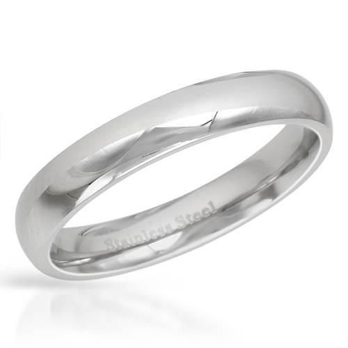 Size 12. Gentlemens band ring well made in stainless steel.