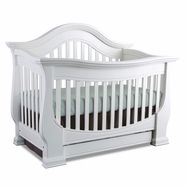 baby appleseed davenport 3 in 1 convertible crib in pure white baby kopitz must haves pinterest