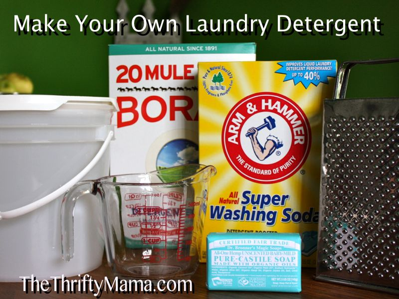 Make Your Own Laundry Detergent 2 Make Your Own Laundry Detergent