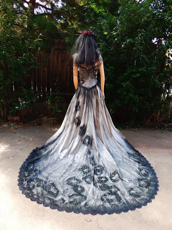 Black Widow Aristocratic Victorian Bride By Graveyardshift13