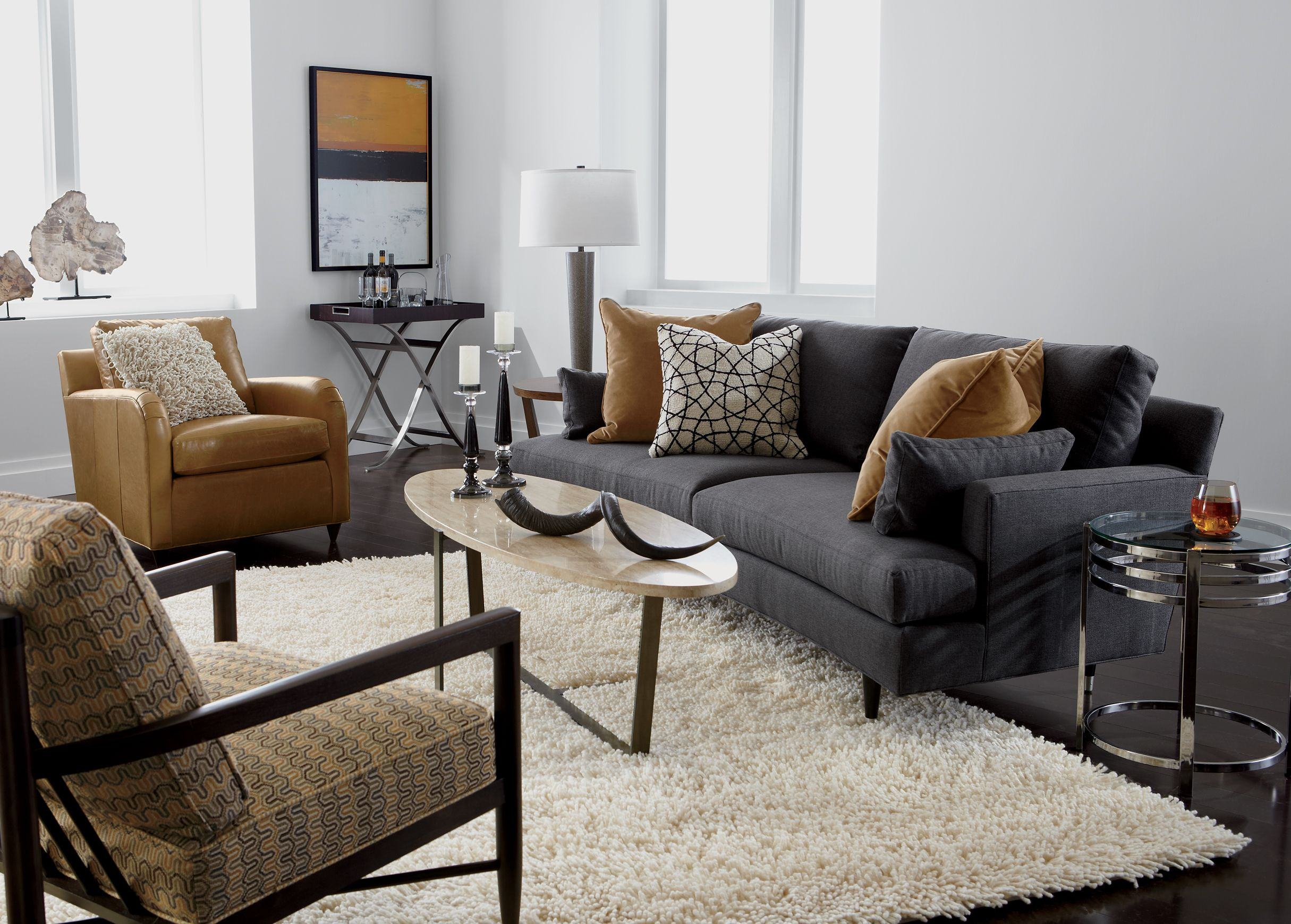 Apollo Living Room Ethan Allen Curved Sofa On Sale 11 14 For