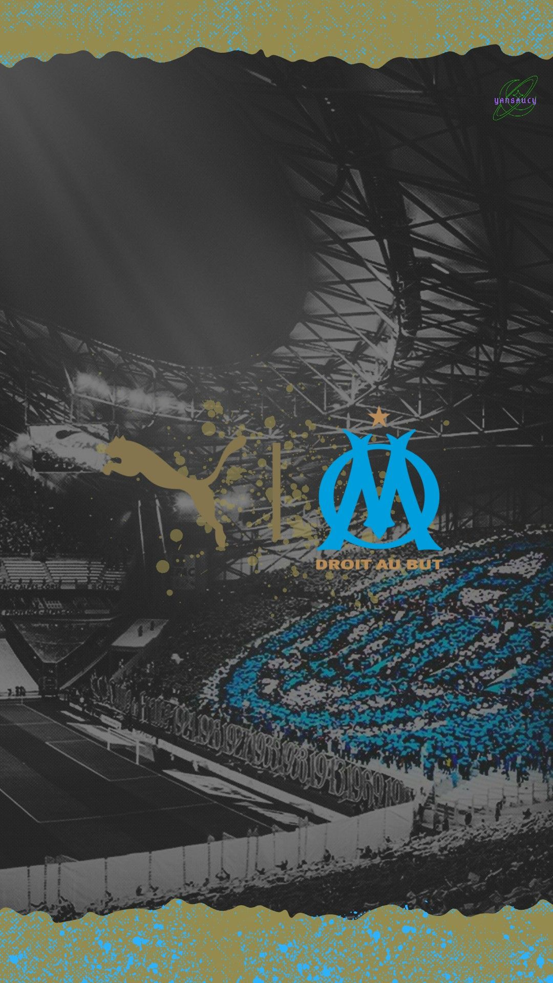 Olympique De Marseille Fond D Ecran En 2020 Olympique De Marseille Marseille Velodrome Marseille
