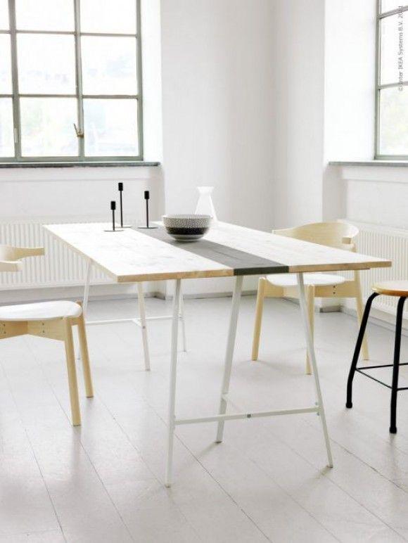 Diy Byg Dit Eget Plankebord Bungalow5 Ikea Diy Table