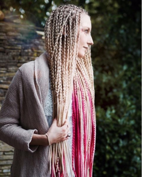 Handmade wooldreads by KatinkaDreads | Dreads | Pinterest
