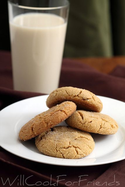 Will Cook For Friends: Tender Peanut Butter Cookies with a special hidden center