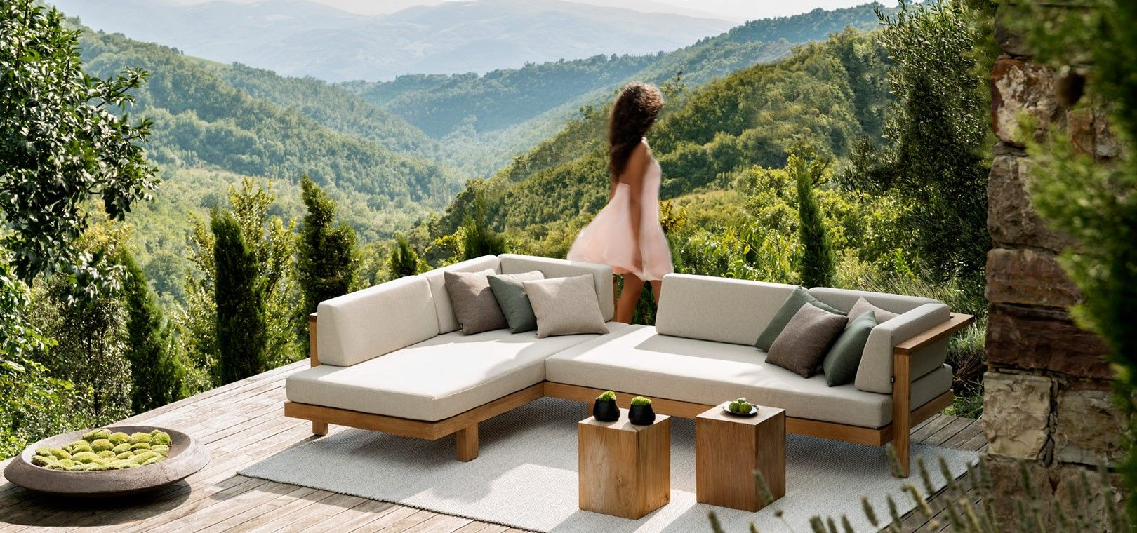 Pue Sofa Is An Elegant Design By Andrei Munteanu, For Outdoor Use ... Outdoor Mobel Set Tribu