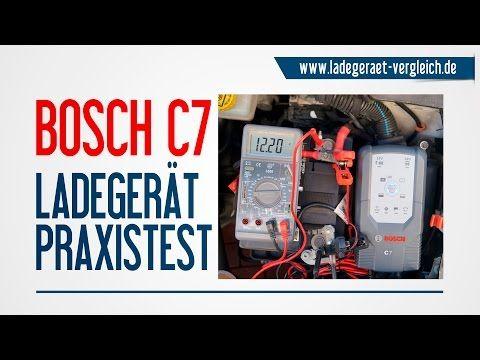 bosch c7 batterie ladeger t test am auto 12v. Black Bedroom Furniture Sets. Home Design Ideas