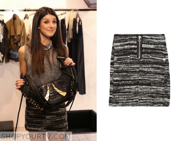 naomi's dress from 90210 season 4 episode 18 | 90210: Season 4 Episode 17 Annie's Black & White Printed Maxi Skirt