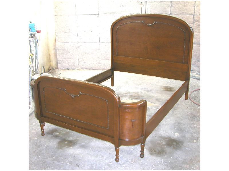 Bedroom Vintage Wood Bed Frame Colonial Style Beds Mahogany