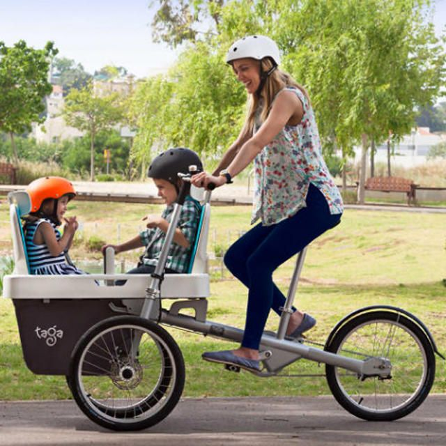 Ditch The Minivan This Family Bike Is What You Need