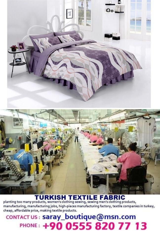 Production industrial bed sheets