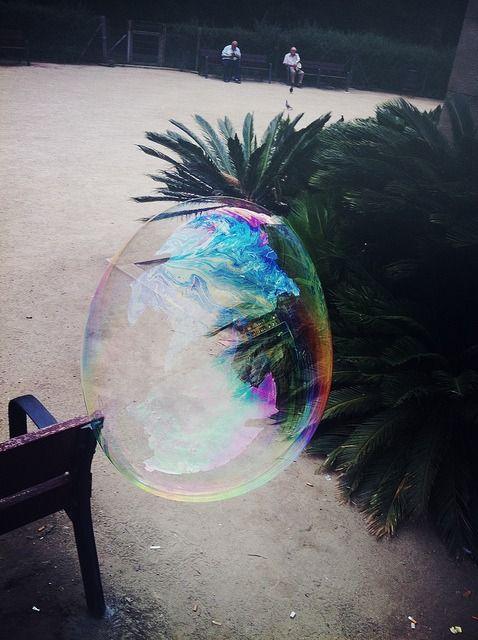 Bubble power. #iridescent #bubble #summer #sunnydays #volcom
