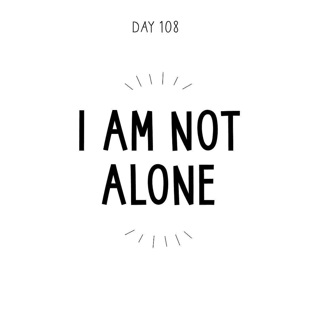 A Quote About Happiness I Am Not Alonea Quote A Day Makes It Ok  Spreading Inspiration