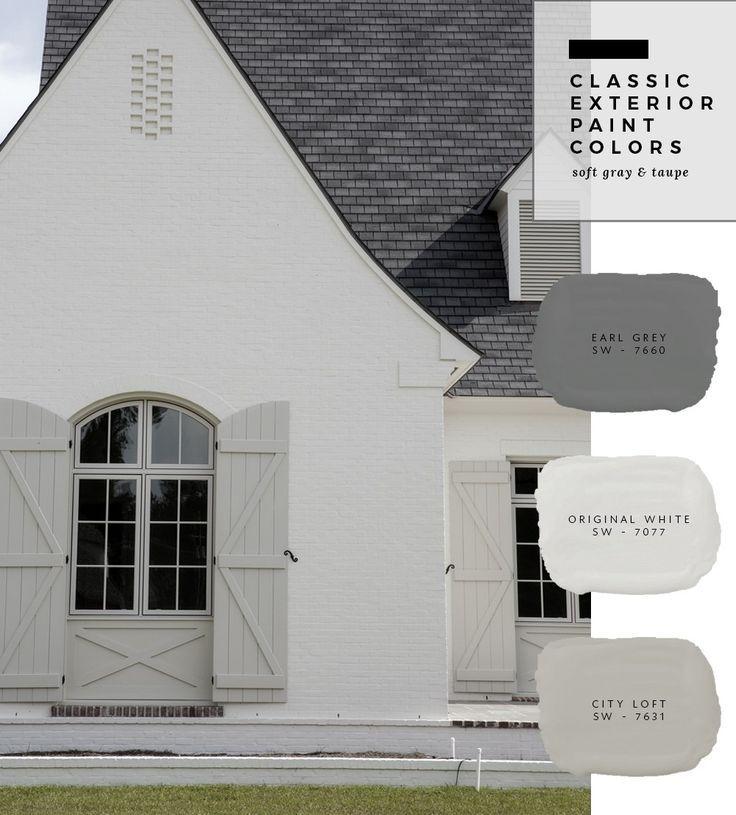 Farbkombinationen für den Außenbereich - #Außenbereich #den #exterior #Farbkombinationen #für #greyexteriorhousecolors