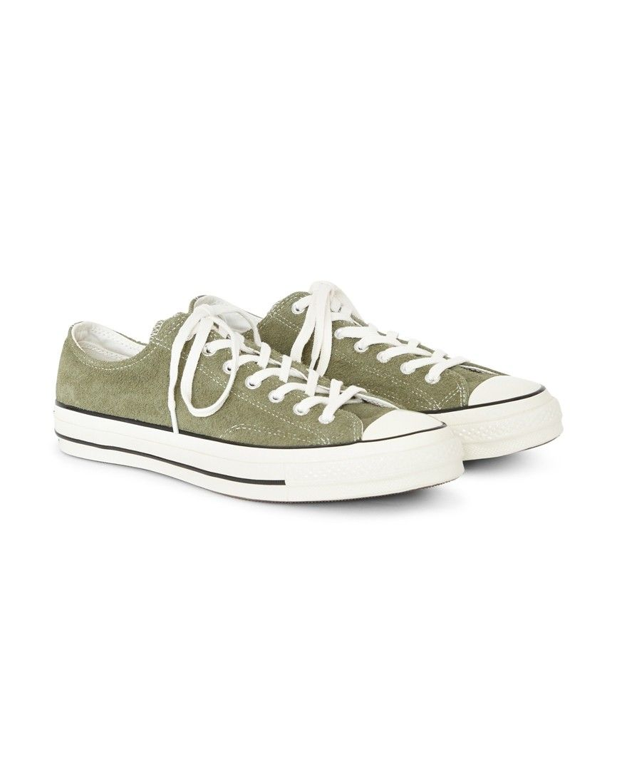 2472ed95e9702b Order the Converse Chuck Taylor All Star  70 Suede Ox Green today from The  Idle