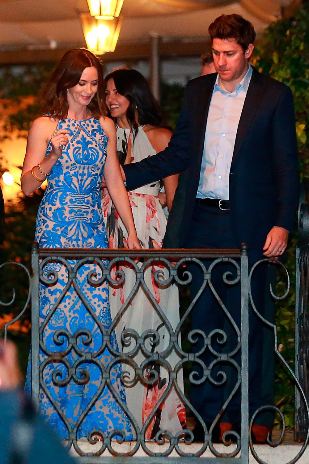 John Krasinski Emily Blunt Wedding.George And Amal Clooney Celebrate Their Second Wedding