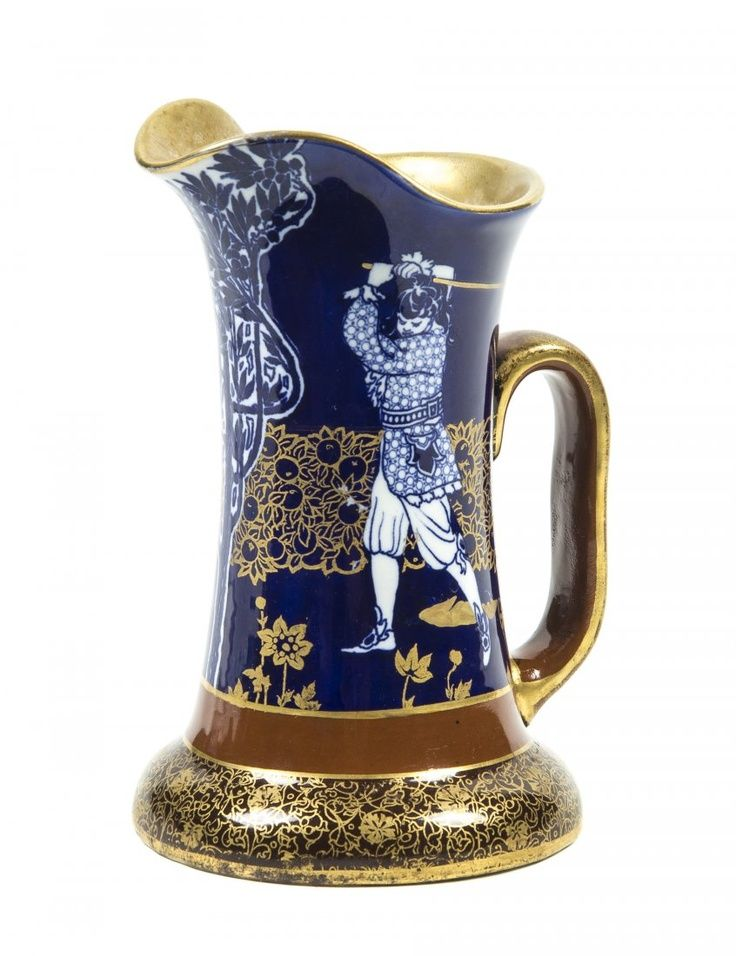 A Royal Doulton Porcelain Pitcher Height 7 14 Inches On Royal
