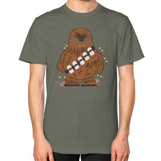 Chewbacca Unisex T-Shirt (on man)