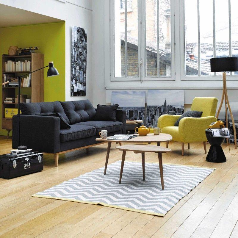 Comment Créer Une Déco Scandinave Déco Scandinave Pour Créer Et - Canapé 3 places pour decoration moderne de salon