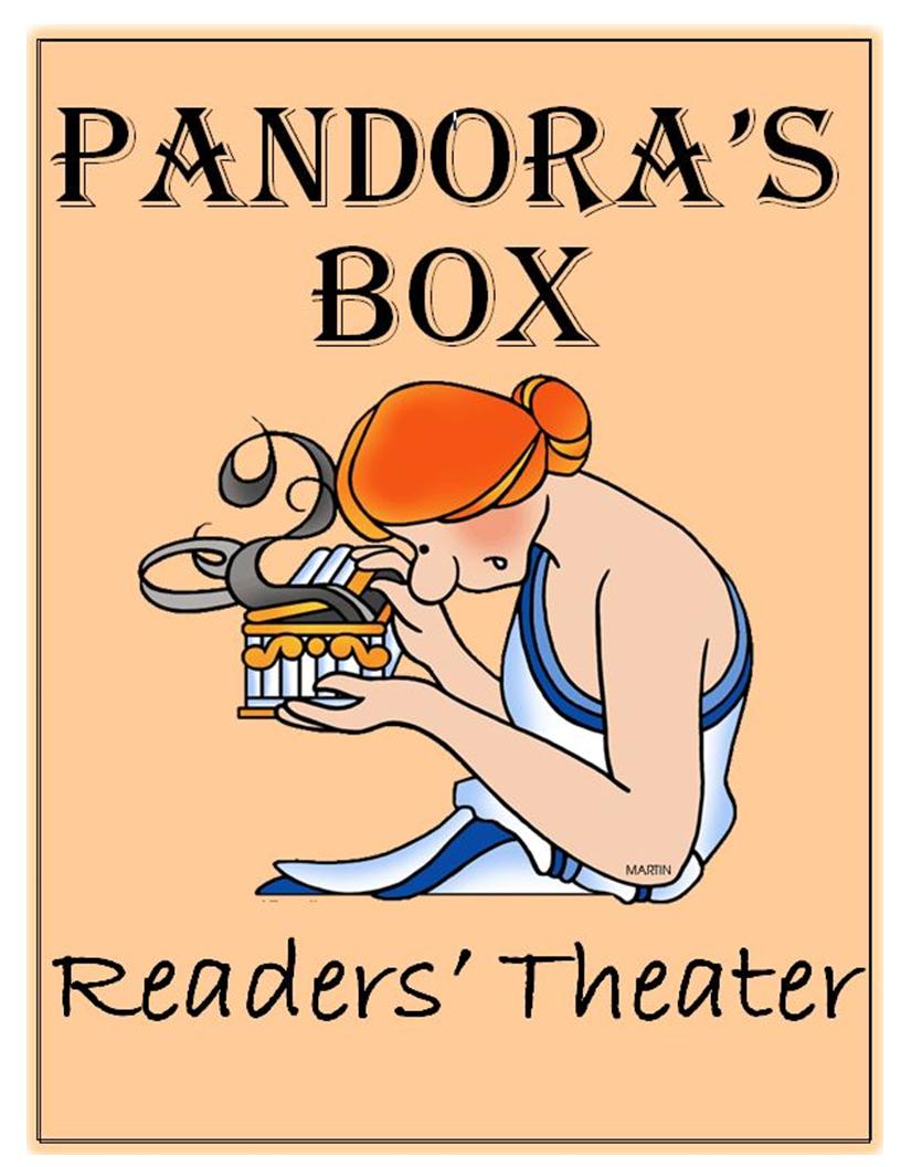 Greek Mythology Common Core Readers Theater Pandoras Box