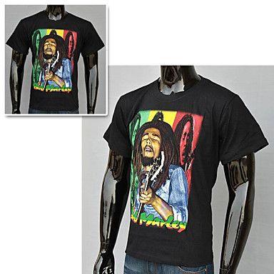Men's Fashion 3D Gedrukt Sport T-shirt - EUR € 10.35