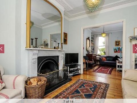 Ivanhoe Road Open Plan Living Room Victorian Living Room Victorian Terrace Interior