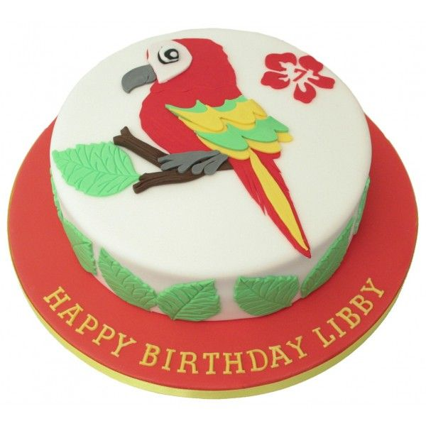 Parrot Birthday Cake Projects to Try Pinterest Birthday cakes