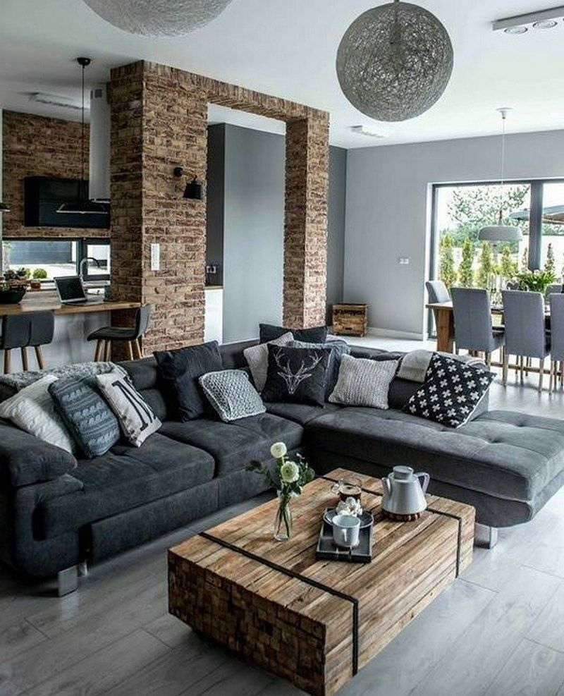 Modern Rustic Living Room Ideas In 2020 With Images Modern