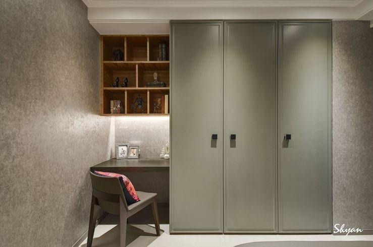 Desk Wardrobe Bedroom Cupboard Designs