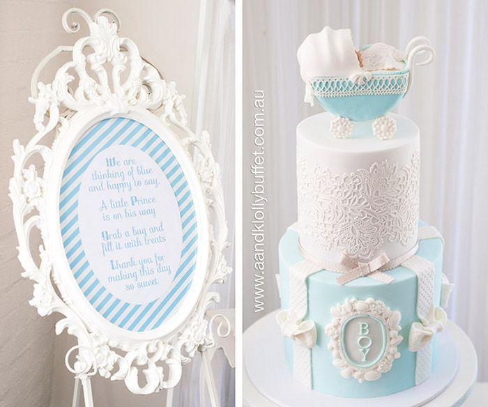 Little Prince Baby Shower | Karau0027s Party Ideas