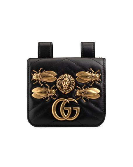 576a76eeca2 GUCCI GG MARMONT 2.0 BUG BELT BAG