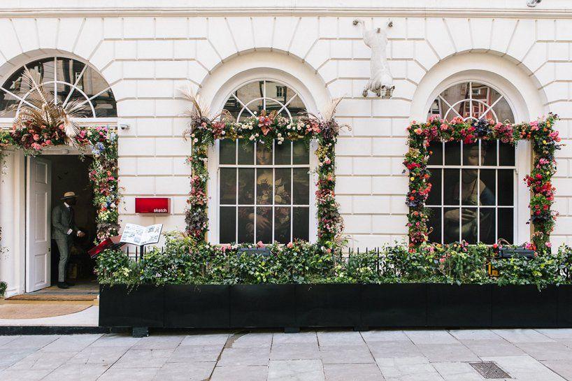 London Florists Transform Sketch Restaurant With Bucolic