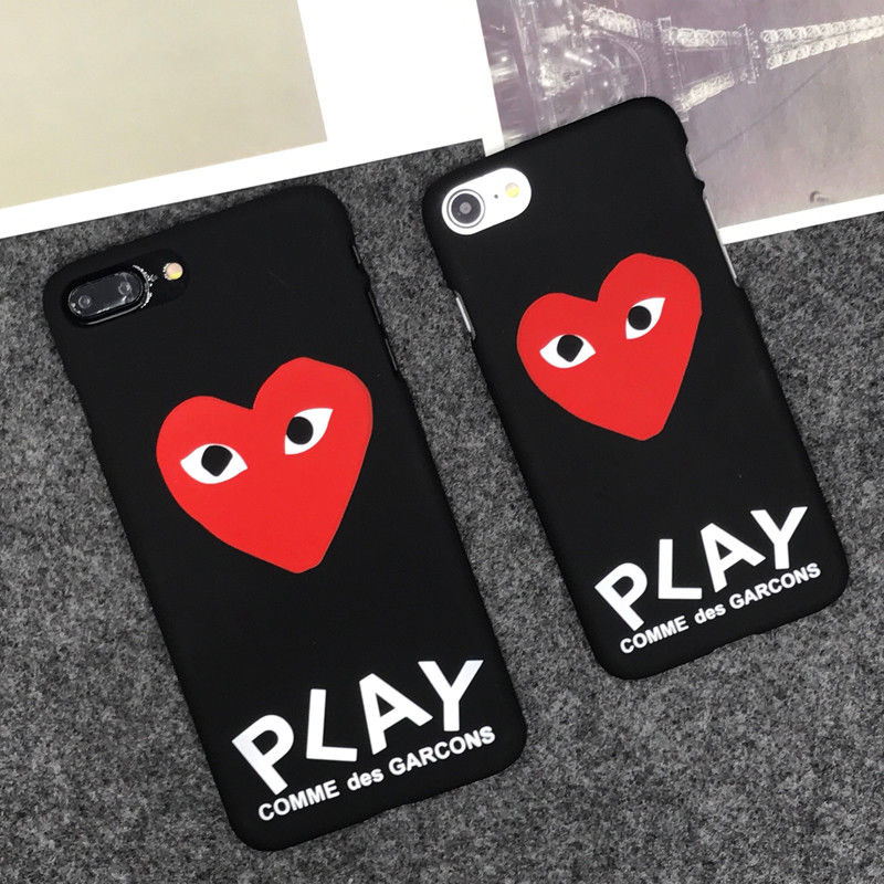 super popular 62481 aba5c $7.96 - Play Comme Des Garcons Cdg Hard Matte Protect Case Cover For ...
