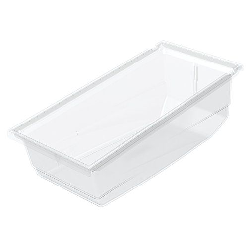 Akromils 36230 17 12inch Long X 8 14inch Wide X 6 12inch Tall Plastic Universal Hanging Nesting Shelf Bins Home Storage Organization Storage And Organization